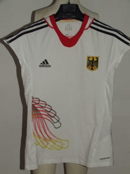Acquista A Buon Mercato Maglia Shirt Pallavolo Volley Sport Germania Germany Femminile N°4 Tg. L