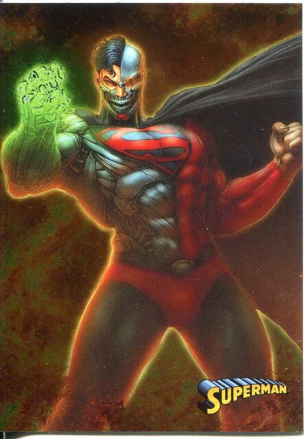 DC The New 52 Parallel Foil Base Card #8