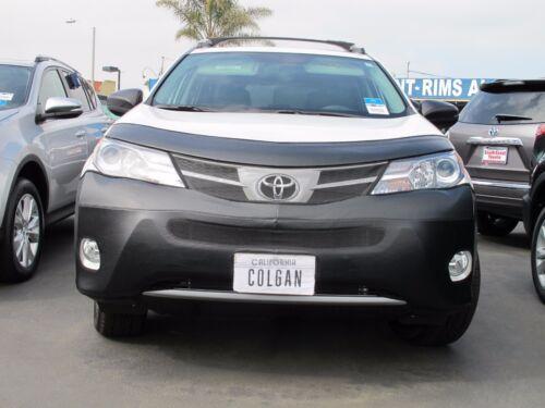 13-15 W//Lic.Plate Colgan Front End Mask Bra 2pc Fits Toyota RAV4 LE,XLE /& Lim