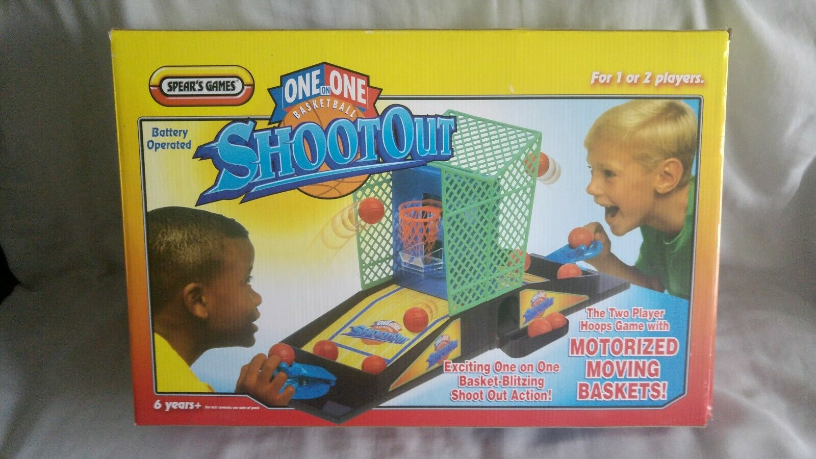 2 Players 1-on-1 Basketball Shootout Game System