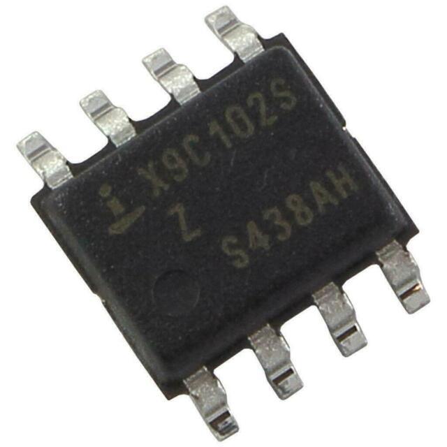 Intersil X9C102SZ Potentiometer lin 1kΩ XDCP™ Digitally Controlled SO-8 856702
