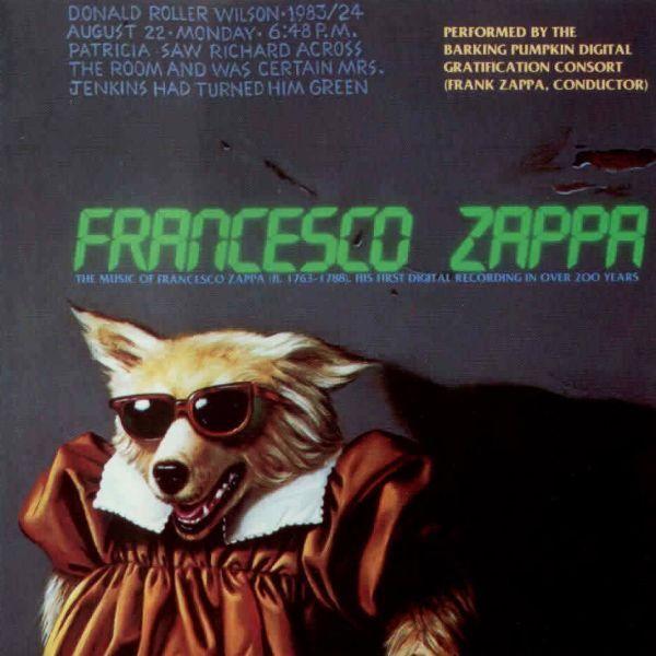 Frank Zappa - Francesco Zappa - CD  Rock, Classical, Baroque, Contemporary