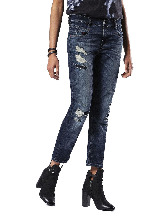Diesel Belthy-Ankle 0854T Jeans Pantaloni women Diritto Sottile