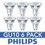 DEL-GU10-Ampoules-a-economie-d-039-energie-Ampoules-Spotlight-Lampe-Bon-etat-Ampoules-Philips miniature 3