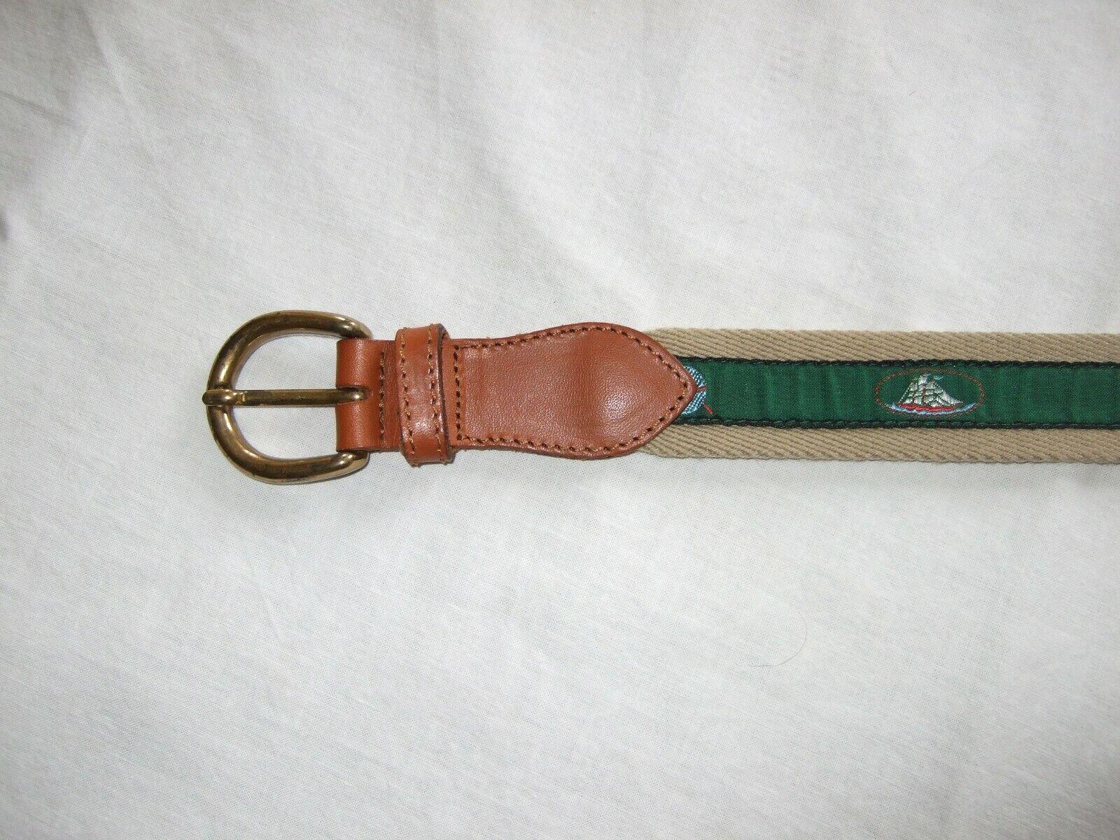 Belt Fabric/Ledermix Size 80