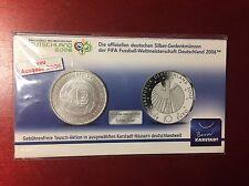 Deutschland 10 Euro Silber FIFA Fußball-WM 2005 Deutschland  Ausgabe 2006
