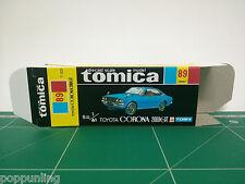 REPRODUCTION BOX for Tomica Black Box No.89 Toyota Corona 2000GT