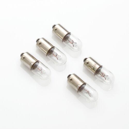 Lamp Bulb 5 x 24V 5W 0,21A 210mA BA9s Birne Lampe Bajonett Skalenlampen