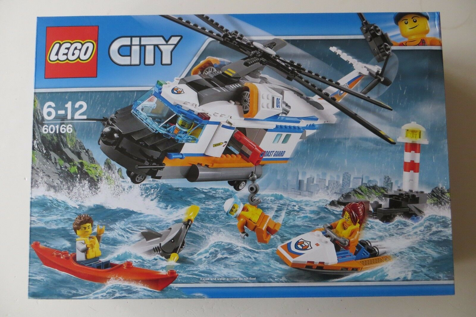 New Sealed Lego City 60166 Heavy Duty Rescue Helicopter