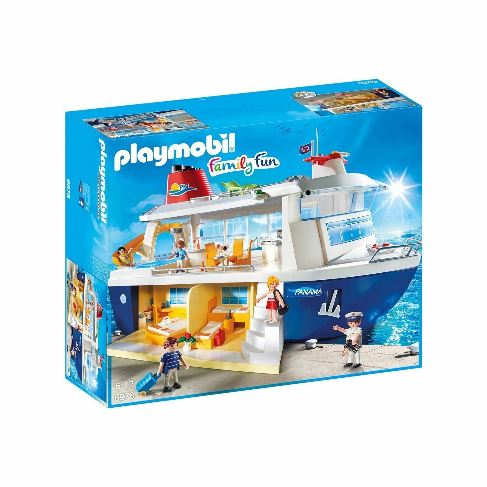 Playmobil Famiglia Diverdeimento 6978 Gree Panama  Nave da Crociera Accessori &  prezzi equi