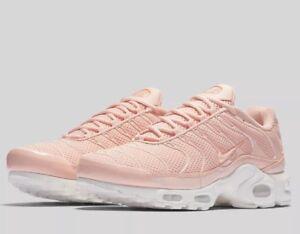 Womens Nike Air Max Plus Tn Ultra Shoes PinkWhite 898014 800 Top Deals