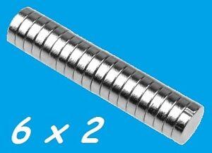 10-MAGNETI-NEODIMIO-6X2-MM-CALAMITA-POTENTE-FIMO-CERAMICA-MAGNETE-CALAMITE