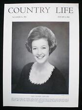 AMANDA ARIANWEN CECILIA HOWARD GREYSTOKE CASTLE 1pp PHOTO ARTICLE 1966