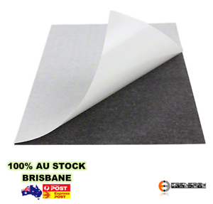 10X Magnetic Sheet A4 x 0.6mm | Self Adhesive | Card Wedding Poster Fridge Photo
