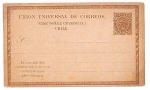 S313 Chile Early UPU Postcard Postal Stationery {samwells-covers}PTS
