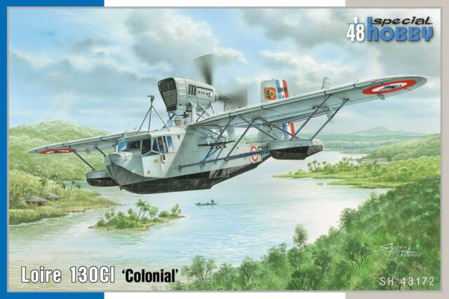 Special Hobby 1/48 Loire 130ci Colonial Flying Boat Aircraft Model Kit PSF