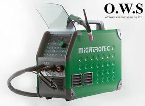 Migatronic PI 200 AC/DC TIG WELDING MACHINE PULSE AIR COOLED 240V WELDER