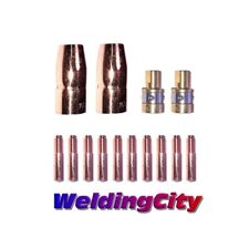 Mig Welding Gun Kit 030 For Miller M 100150 Contact Tip Nozzle Diffuser M32