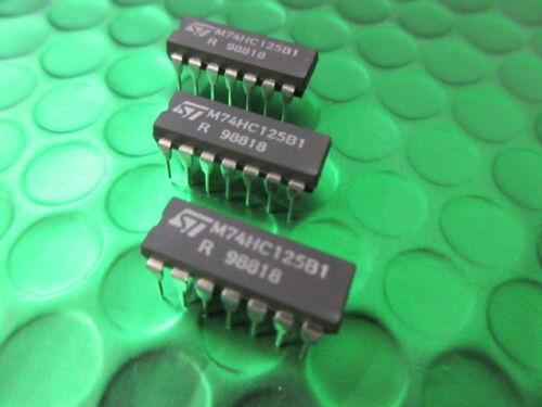 Quad 3-Estado Buffer sólo 90p por Chip! 5 X M74HC125B1 74HC125 SGS