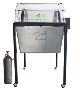 TOM'S TUMBLER™ TTT 3000 DRY TRIMMER, SEPARATOR AND POLLEN EXTRACTION SYSTEM