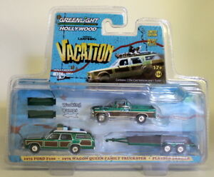 Greenlight-1-64-National-Lampoons-Vacation-Ford-F100-Wagon-Queen-Truckster-Chase