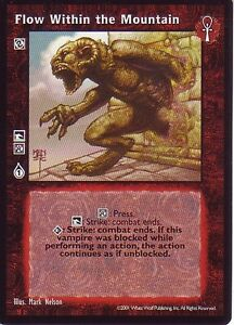 5 x Flow Within the Mountain VTES CCG Bloodlines