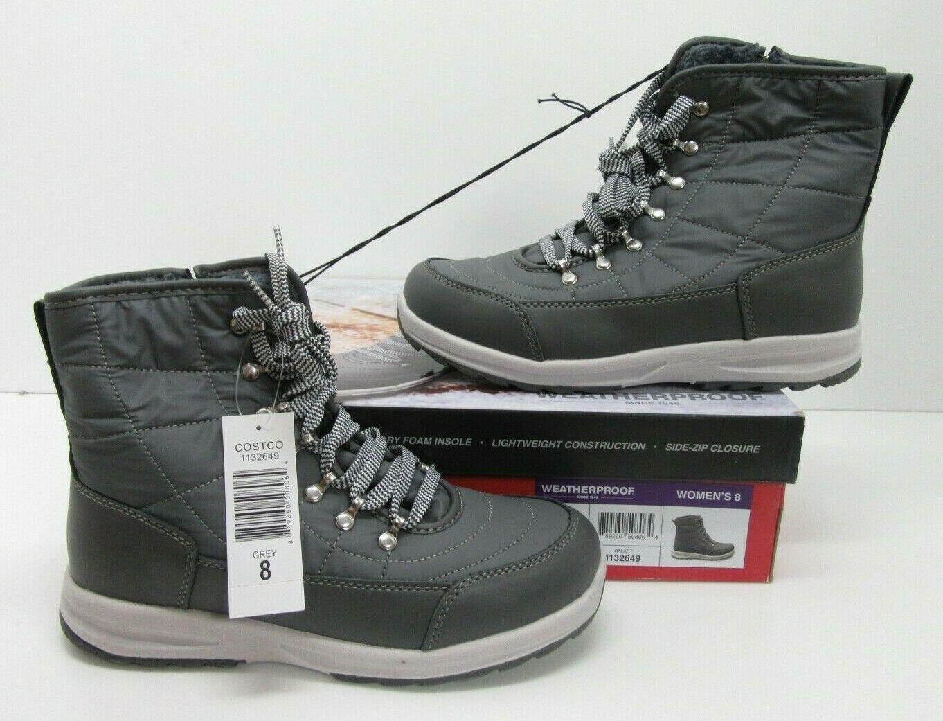 Winter Sneaker Boot Grey