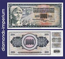 JUGOSLAWIEN  - 1.000 DINARA - 1981  (UNC)