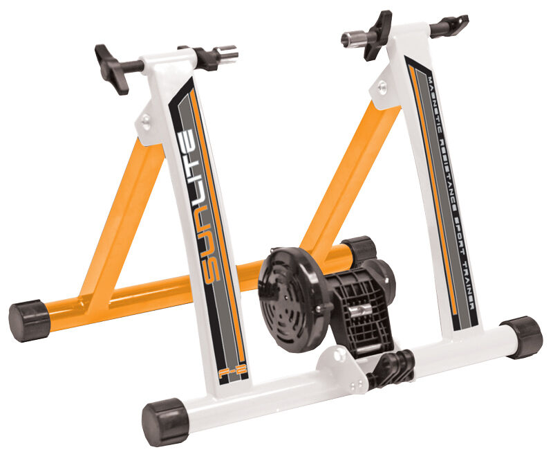 New Sunlite Forza F2 Bicycle Trainer Magnetic Resistance Exercise Bike Mag Best