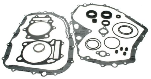 Suzuki Eiger 400 Manual 2002-2012 Complete Gasket Set with Valve /& Oil Seals