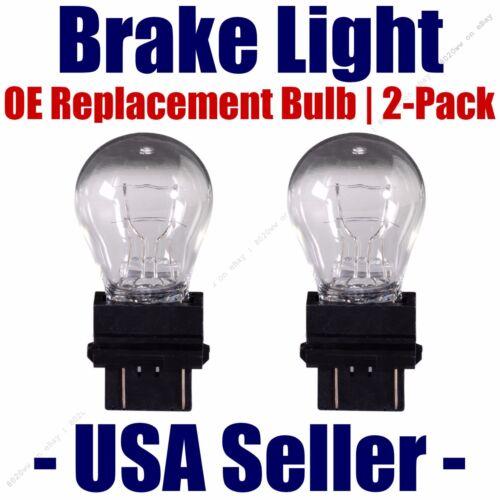 Stop//Brake Light Bulb 2pk Fits Listed Cadillac Vehicles 3157