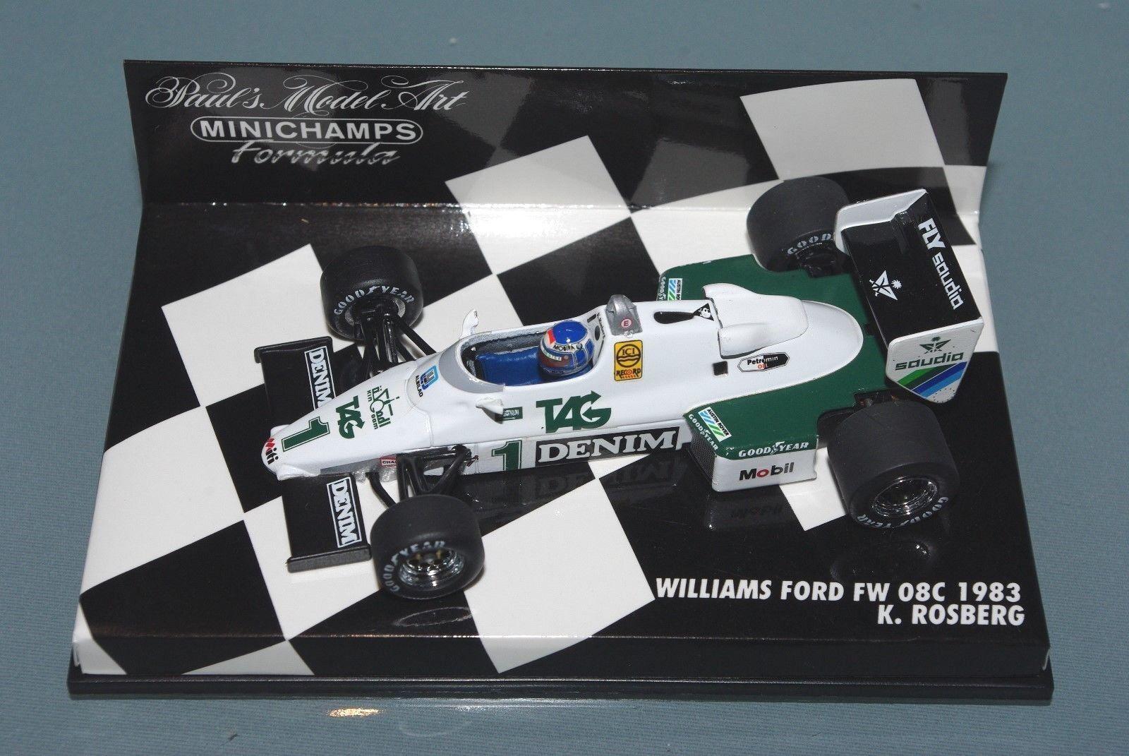 Minichamps 1 43 F1 Williams Ford FW08C - Keke Rosberg