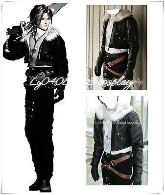 Final Fantasy VIII 8 Squall Lionheart Cosplay Halloween Costume Custom Any Size