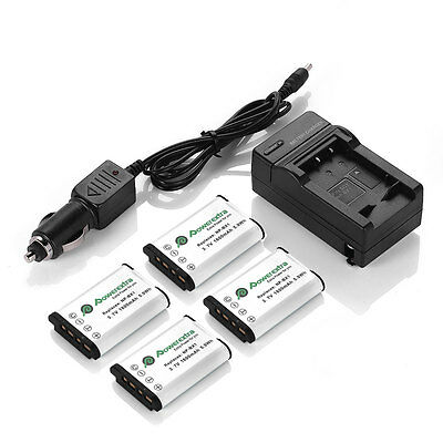 NP-BX1 X Type Battery & Charger For Sony DSC-RX100 RX1 HDR-AS15 AS10 HX300