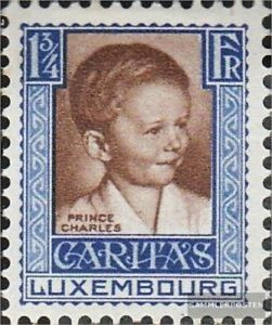 Luxembourg-231-with-hinge-1930-Children-039-s-Aid