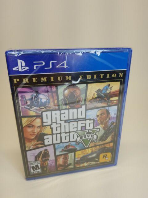 Grand Theft Auto V [GTA V] Premium Edition PS4 Playstation 4 Brand New Sealed
