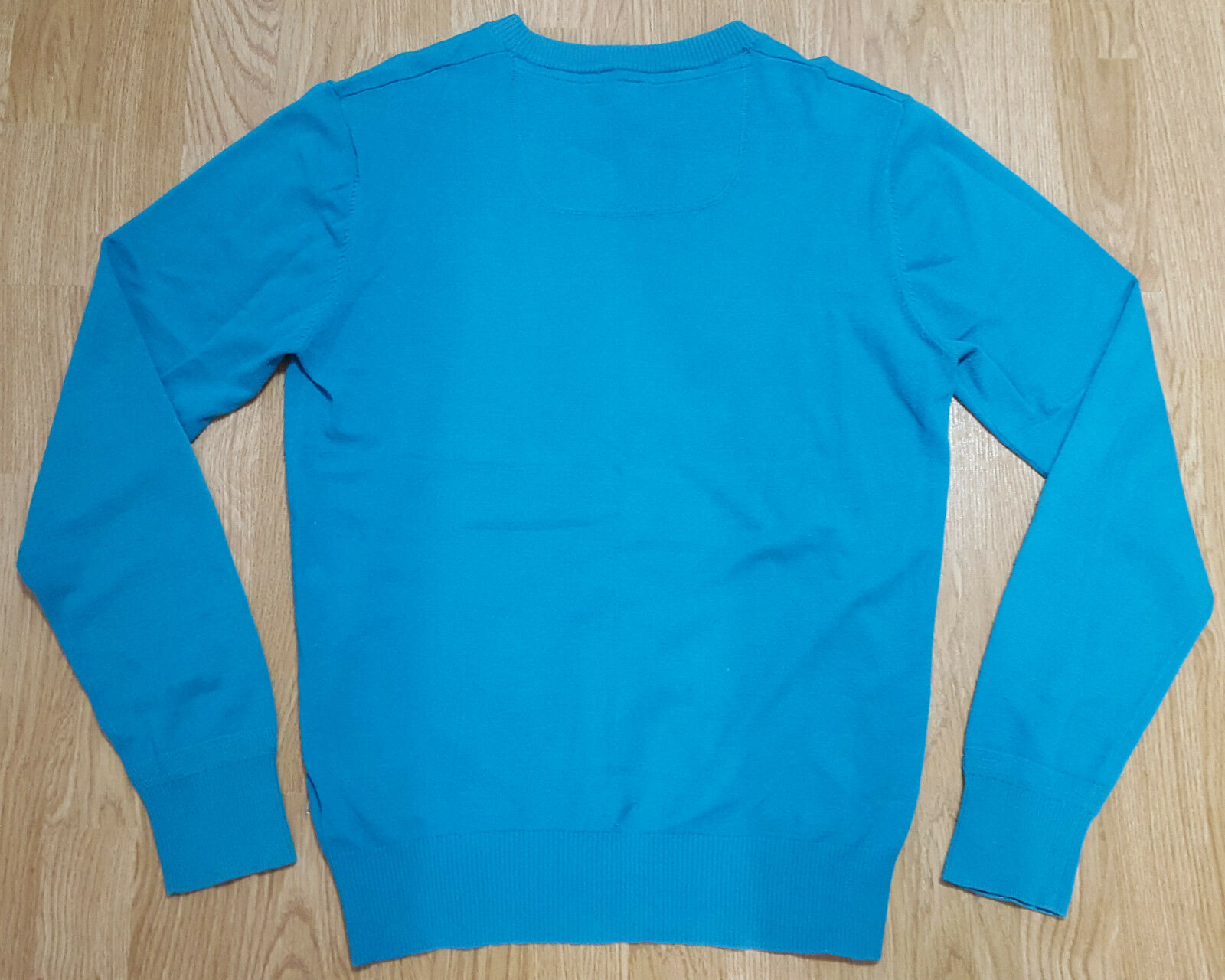 Diesel Tricot & Co Long Sleeve Jumper Jumper Jumper Top Knitted Cotton Turquoise Ladies Size M 9724a6