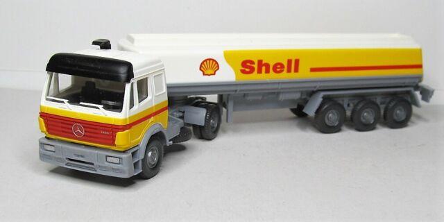 Wiking 1:87 Mercedes Benz SK 1835 Tanksattelzug OVP 780 03 Shell