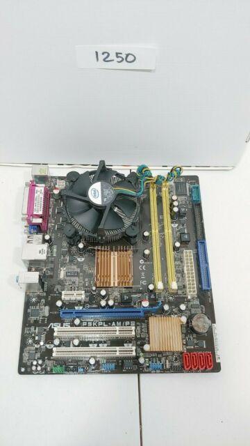 Asus P5kpl Ps With Core 2 Duo E6300  Lga775 Intel G31