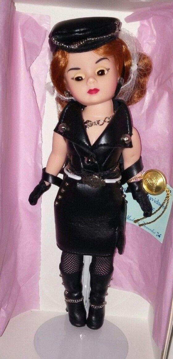 1998 Madame Alexander Harley Davidson Leather Biker Sleepy Eye Cissette Doll