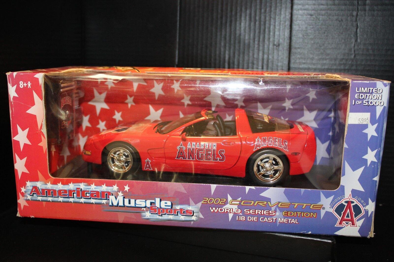 American muscle 2002 Corvetter World Series Edition