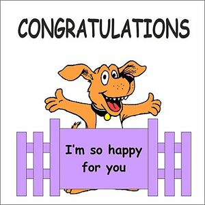 Image result for congratulations dog