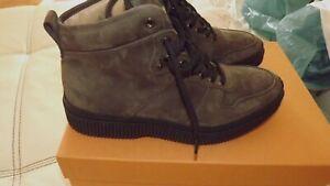 Tod-S-Chaussures-a-Lacets-Neuf-7-41-en-Cuir-550-00-Etiquette-Cuir-Automne-Hiver