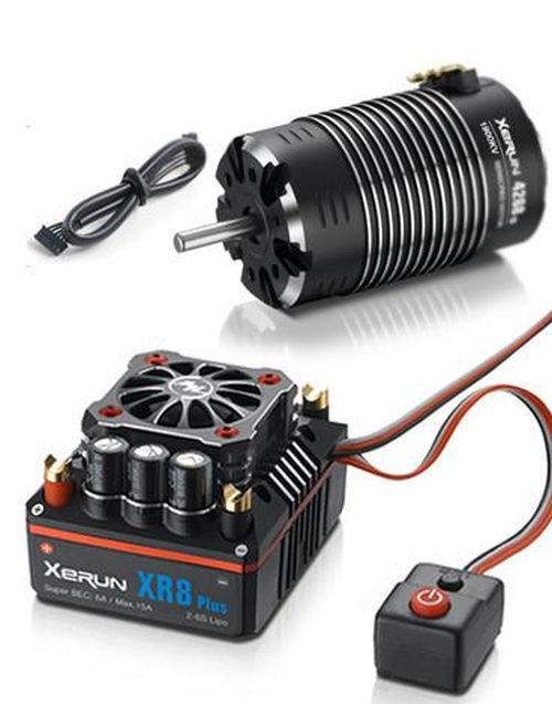 Hobbywing-Xerun Xr8 Esc 18 (2s-6s) y G2 4274sd 2250kv motor Con sensores combo