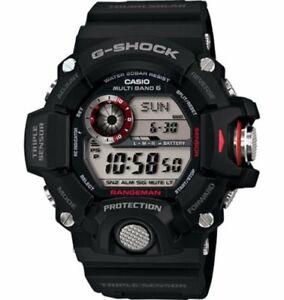 9ed7908e5391 Casio G-Shock GW9400-1 Rangeman Military Black Triple Sensor Atomic ...