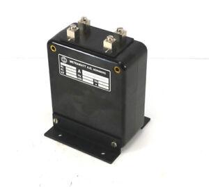 50hz Spannungswandler Obliging Metrawatt Tig Zw Stromwandler 1388 0,1-1 A