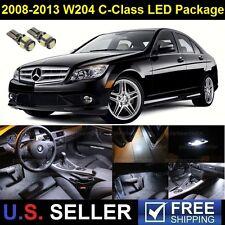 2008-2013 Mercedes C300 C350 C63 LED SMD Lights Interior Full Package 9Pcs White