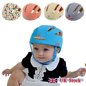 Infant Baby Toddler Safety Helmet Kids Head Protection Hat Walking Crawling Hat