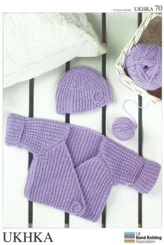 Stylecraft UKHKA 70 Tejer patrón-abrigo chaqueta y sombrero