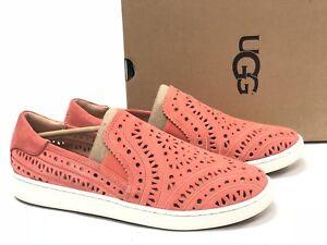 e1942ff4a1b Details about Ugg Australia Cas Perf Vibrant Coral Purple Women's Shoes  1092514 Slip On Suede